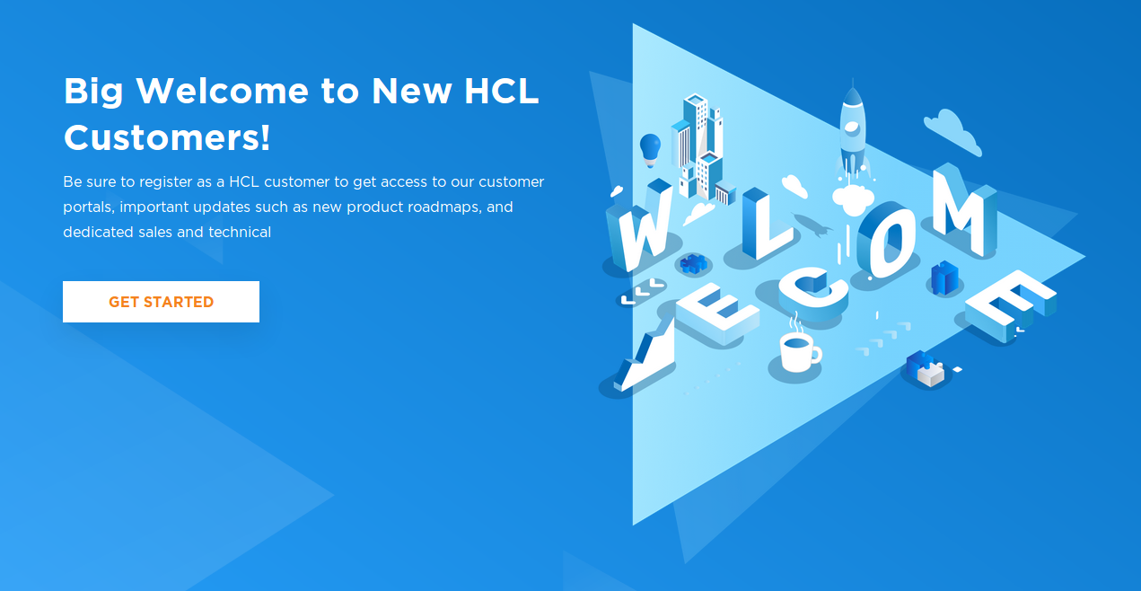 Figure 1: HCL Software Portal Features