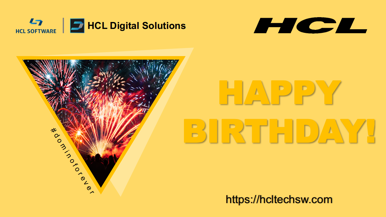 Happy Birthday HCL Software