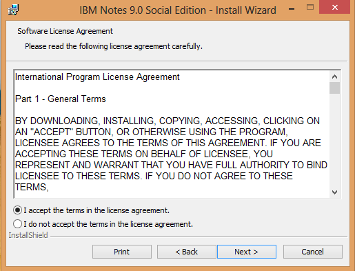 IBM Notes 9.0 - Licence Agreement