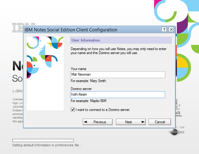 IBM Notes 9.0 - personal Notes User Information