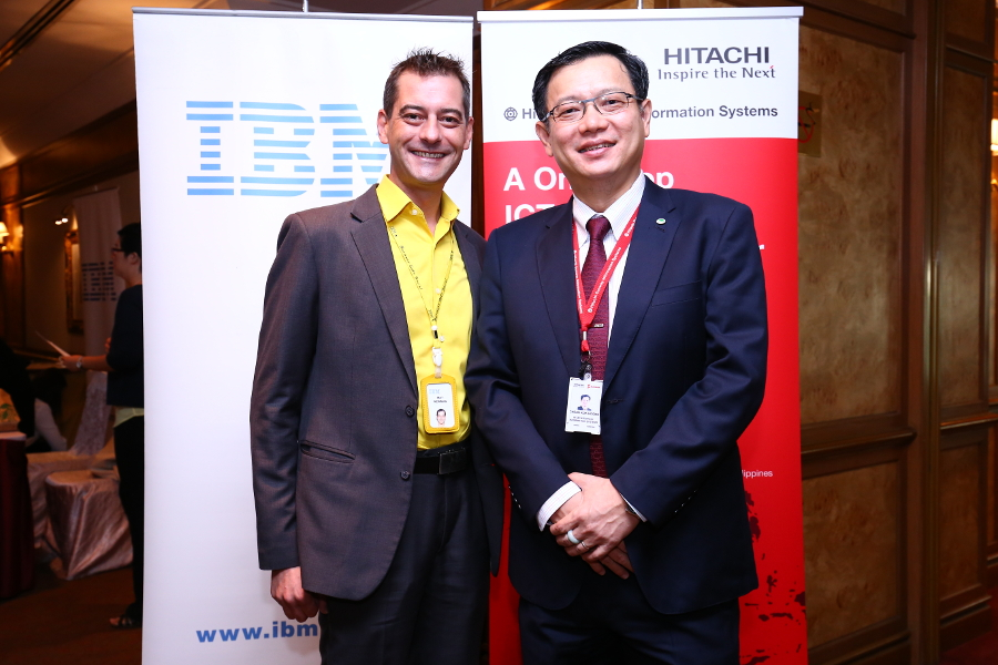 Figure 2: Sunway Cheah Kok Hoong, Group CEO & Director of Hitachi Sunway with Mat Newman